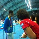 Congrats to Yu Hexin (CHN) for winning gold in #YOGswimming men's 50m butterfly! #nanjing2014 @youtholympics http://t.co/2sQ8Vua7TV