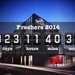 We are getting closer.. 23days till Freshers ???????????????????? #Freshers #uclan #preston #uclanfreshers http://t.co/9WSU08nUlo