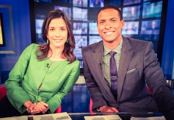 Anyone catch my new co-anchor for two hours today? Welcoming @IsaCNN to #CNNcenter for the next few days!! http://t.co/wjVS1zzpNt