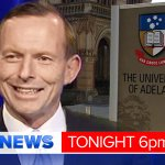 Vocal protesters greet PM @TonyAbbottMHR at the @UniofAdelaide. @TomRichardson reports LIVE in #9NewsAt6. #9Newscomau http://t.co/ksd8uwPDjK