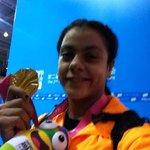 S. Ahmed (EGY), #YOGweightlifting gold medalist, shares a #yogselfie! #nanjing2014 @youtholympics http://t.co/xQ8t4CL1AP