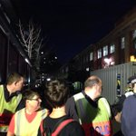 The #AbbottFence is now made up of human security forces linking arms #PMVisit http://t.co/a6R5vX6NkY