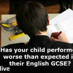 RT @bbc5live: Todays #gcseResults show a drop in the number of pupils achieving A*-C grades in English. Get in touch 0500 909 693 http://t.co/jTQpX1iop5