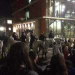 """RT @telfordlaura: Crazy stuff at Adelaide uni! RT @OnDitMagazine: """"Cops off campus!""""the short chants tend to be fairly short lived. http://t.co/uHt3zo3iAW"""