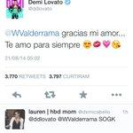 Demi e wilmer mais apaixonados que nunca ???????????????? #votedemilovato http://t.co/U0EyEjb66X