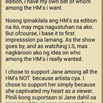 RT @princessyaniiii: This is where I stand ☺ And d reason why every load i used to vote for Jane is worth it. BBS JANE to 2331 or 231 ???? http://t.co/aBKg6bfO86