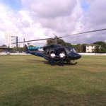 We Landed in cricket field !! Totally cool !  #colombo #SriLanka