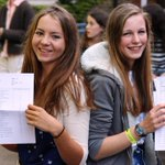 Rowers Emma Andrews & Asa Loftstedt spend hours training together. Today they both scooped straight A* and As #GCSE http://t.co/gbliIazxV7