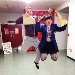 #Hollyoaks HQ wants to say good luck to everyone getting their #gcseresults today. We hope youll be jumping for joy! http://t.co/JoSM2cGxD6