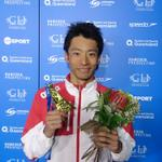 #パンパシ水泳 入江陵介(@ryosuke_irie )が男子100m背泳ぎで金メダルを獲得! #トビウオジャパン http://t.co/cCZKMqIrli