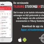 Ga jij #studeren in #Tilburg? Download dan de vernieuwde Tilburg Studentenstad app in de App of Google Play Store. http://t.co/hFnxzxjTl5