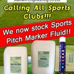 Calling all sports clubs in Norfolk. We now stock pitch marker fluid! Same day collect or FREE next day delivery! RT http://t.co/t8OhEeLt2d