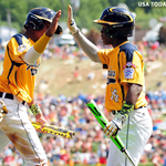 RT @CSNChicago: Jackie Robinson West, Taney ready for elimination game. @sbaickerCSN has more: http://t.co/xXYUCzgfcf #LLWS2014 http://t.co/acCDXe5jea