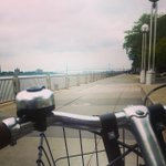 Perfect day for a bike ride on the #Detroit Riverwalk. #LiveUnited http://t.co/zZrmmrrXzm http://t.co/h1D7tMnMxV