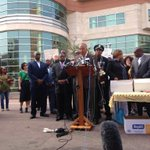 """We demand Darren Wilson be charged...& #Ferguson mayor& police chief resign"" -the group Justice for #MichaelBrown http://t.co/S1atKHeh3p"