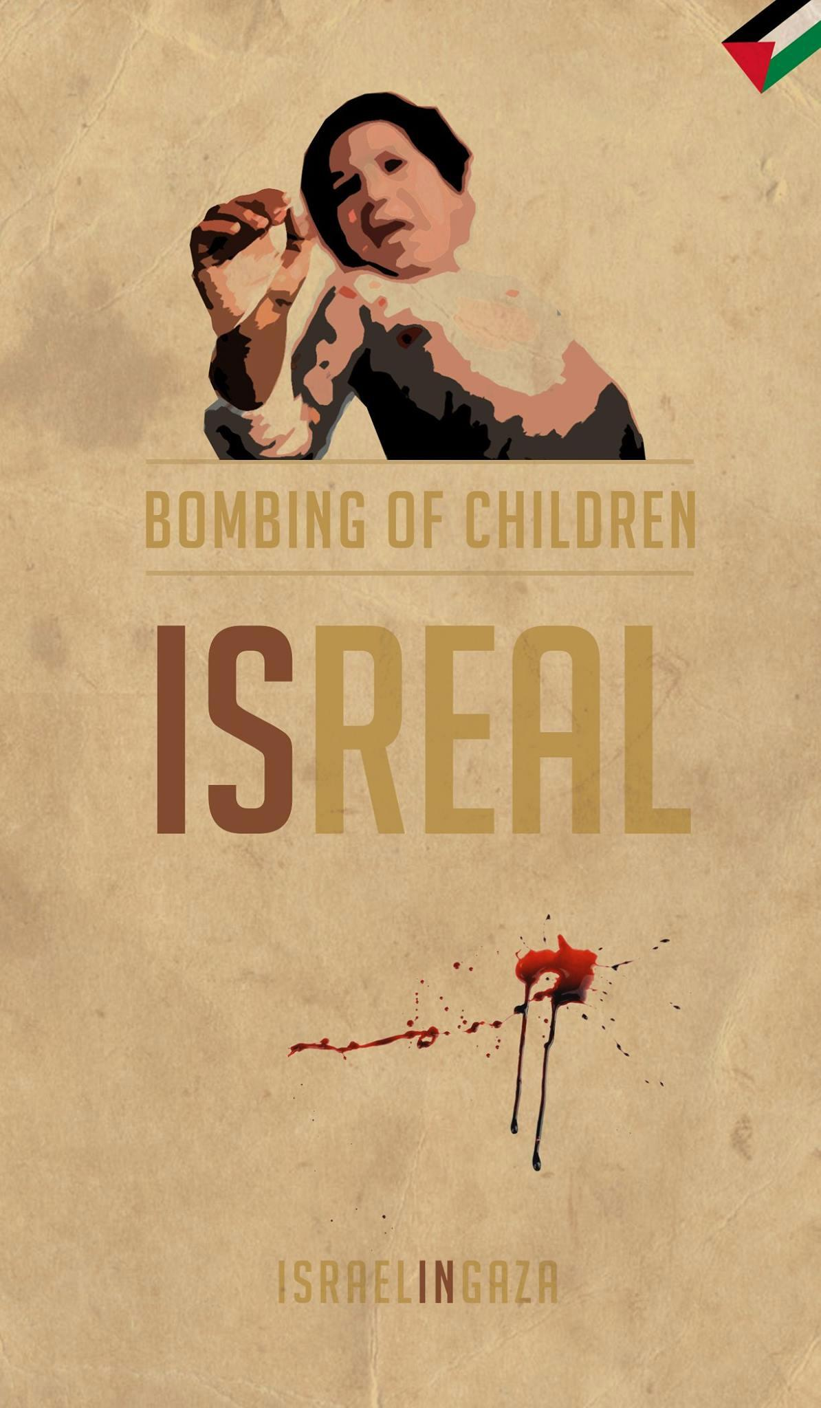 IsReal ! by João Pico @ComprimidoPT #Israel in #Gaza #SavePalestine #GazaUnderAttack http://t.co/owrwhYdi0B