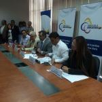 Inicia rueda de prensa de autoridades presentes en la reunión de la Mesa de Justicia en #Manta. http://t.co/eDEgEVmbmv