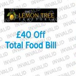 RT @iLoveHD_: £40 off total food bill at The Lemon Tree Trattoria #Huddersfield In #iLoveHD voucher book http://t.co/7E9vmsgJcN http://t.co/5UPfzNPZfw