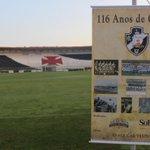 Vasco 116: Manhã foi de comemoração em São Januário http://t.co/BS37ZJ1mhm http://t.co/1hBcgAkDB1