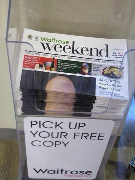"""@LeeHawke: @RamsRedsBanter Steve McClaren appears on Cover of Waitrose Magazine #nffc #dcfc #mindthegap http://t.co/iF9Vld96Z3""oh my god"