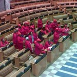 RT @SapaNews: #EFF MPs still refusing to leave National Assembly after disrupting Zuma reply to Nkandla question. CP http://t.co/ElMcQ3N7vw