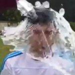 RT @Ovaciondigital: #IceBucketChallenge Fue el turno de @luis16suarez. Mirá el video: http://t.co/eYcv5n9f91 http://t.co/ZN1F6qkOFI