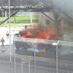 Busy day for SCDF: Lorry caught fire at Changi Cargo Complex this afternoon http://t.co/bsBWsYEg83 (Pic: Jason Wee) http://t.co/w1u14WHDhB