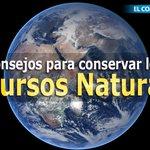 RT @elcomerciocom: #Consejos / ¿Cómo conservar los recursos naturales de nuestro planeta? » http://t.co/ZyXfzykYNv http://t.co/wc9OlZeOdN
