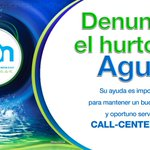 [PUBLICIDAD] Denuncie el hurto de Agua en Neiva... Un mensaje de Empresas Públicas de Neiva http://t.co/lOVf4siNqT