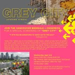 SEPT 3: #OSGEMEOS doc GREY CITY screens. All proceeds towards their amazing public art project in #Vancouver. #YVR http://t.co/Av4WyeEi09