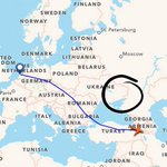 RT @wanariefimran: #MH6129 flew over Turkey. In circle is where #MH17 was shot down. http://t.co/H1SFMPoyVT