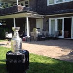 Umm hello? Did someone forget me? #stanleycup visits #newwest http://t.co/eNppxmSJ87