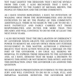 "NEW: Prosecutor Bob Muculloch issues press release saying he has ""no intention of walking away"" from #Ferguson case. http://t.co/GAdyEXMhtH"