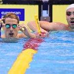 RT @itele: Jérémy Stravius (à droite sur la photo) gagne la médaille dargent au 50 m dos aux Championnats dEurope de natation. http://t.co/7Wgp34tRko