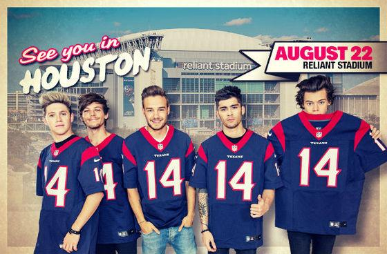 #OneDirection are in Houston tomorrow. Plan accordingly. It might get loud. http://t.co/3O6AzKLssx http://t.co/JY2wkUR3VV