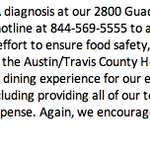 Heres a statement from the Whataburger camp - theyve set up their own hotline: http://t.co/ynIk8BLC6e
