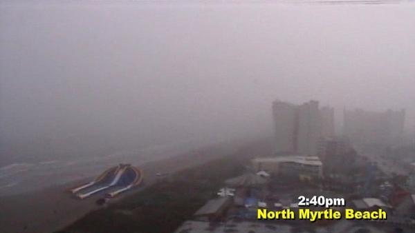 Crazy waterspout/tornado I took in Myrtle Beach SC WPDE ...