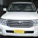 RT @idlebrainjeevi: Ram Charan gifts Chiranjeevi a Land Cruiser this birthday http://t.co/HLHkjUvbNb http://t.co/YsQ9SgwZ4V