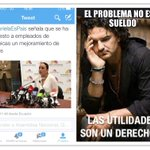 RT @593SOSTelecom: #ElProblemaNoEsElSueldo Utilidades son un Derecho!!! #YSiTePasaATi @AsambleaEcuador @GabrielaEsPais @MashiRafael http://t.co/9h82mWvLex