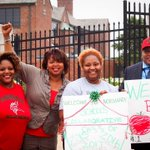 People in neighboring Normandy are feeling the first day of school. #MikeBrown woke folks up. http://t.co/Ur9oyKsHuX