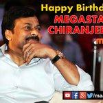 RT @MAATV: #MaaTV wishes Megastar Chiranjeevi a very happy birthday #HappyBirthdayMegastarChiranjeevi http://t.co/hMkmbZVcSb