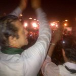 With my ppl in the rain. Nothing can stop the junoon for Naya Pakistan. http://t.co/WwWSmB9Fkn