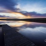RT @DaveZ_uk: A picture I took of Redbrook reservoir in #Huddersfield Please RT http://t.co/0ideOIb9a5