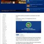 Cancillería panameña considera procedente la extradición de Galo Lara @elcomerciocom http://t.co/6qpe1mns8f