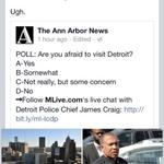 RT @Ash_Detroit: Look at @annarbornews trolling #detroit #fail #actualpeoplelivehere http://t.co/kYoVLPk7CW