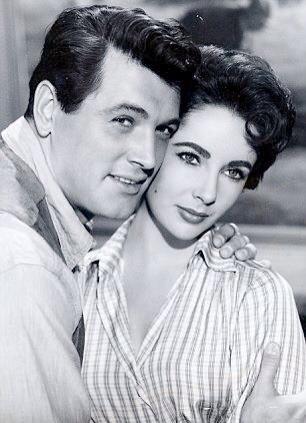 Photo: Elizabeth Taylor & Rock Hudson shooting Giant, 1956. Two legends sadly departed. http://t.co/rXC7VW5YjN