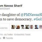 RT @AliLashariPTI: @MaryamNSharif Tweet. NAWAZ WILL RESIGN SHE SAID. now she deleted dis tweet. @PTI_tsunami @PTIofficial @AliHZaidiPTI http://t.co/pdwR3sU9cf