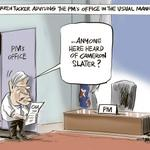RT @rodemmerson: Warren Tucker advising the PMs office - CARTOON in todays @nzherald #dirtypolitics #election2014 http://t.co/hVQgI42OgP