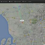 RT @501Awani: Kedudukan terkini pesawat khas MH6129 yang membawa pulang 20 jenazah mangsa nahas MH17. #MengenangMH17 http://t.co/zZodyz2cqZ