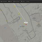 RT @501Awani: Kedudukan terkini pesawat khas MH6129 yang membawa pulang 20 jenazah mangsa nahas MH17. #MengenangMH17 http://t.co/Z4rxUcGMCt